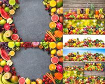 水果与饮料展示摄影高清图片