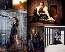 欧美时装模特写真拍摄高清图片