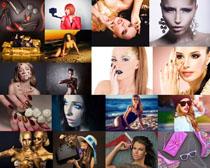 性感化妆模特美女摄影高清图片