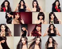 发型模特美女拍摄高清图片