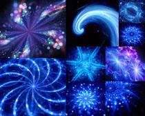 蓝色星光背景拍摄高清图片