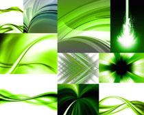 绿色炫彩背景摄影高清图片