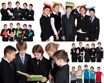 国外校服学生拍摄高清图片