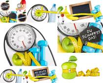 营养痩身标准摄影高清图片