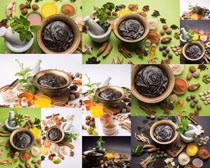 原料食材展示拍摄高清图片