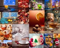 蜂蜜茶摄影高清图片