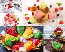 冰淇淋冰棒摄影高清图片