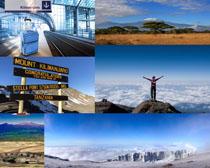 国外雪山风景拍摄高清图片