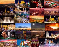 國外建筑夜景攝影高清圖片