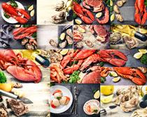 龙虾海鲜食物摄影高清图片