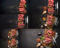 牛排原料食物摄影高清图片