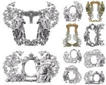 中世纪的装饰拍摄高清图片