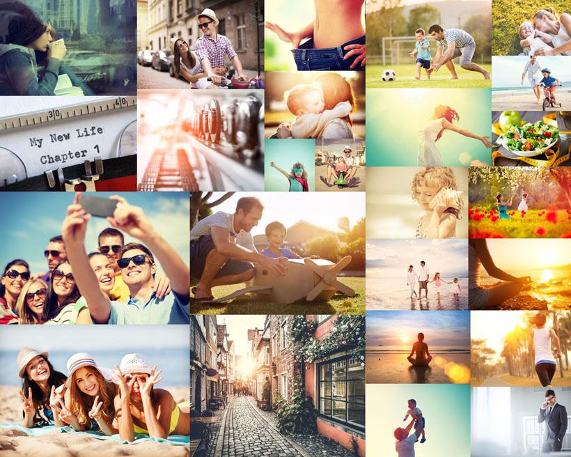 快乐欧美生活人物摄影高清图片