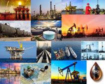 海上石油运输摄影高清图片