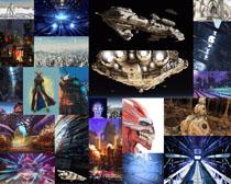 星际未来摄影高清图片
