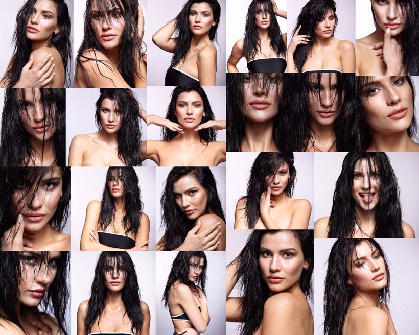 欧美女子肌肤摄影高清图片