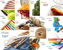 绳子网球生活物品摄影高清图片