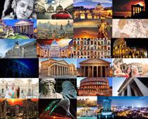 歐美建筑與塑像攝影高清圖片