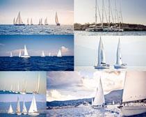 海上大帆船拍摄高清图片
