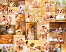 汗蒸国外人物摄影高清图片