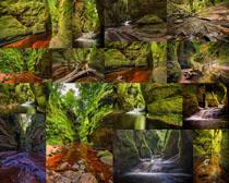 山川河流风景拍摄高清图片