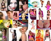 欧美性感女子写真拍摄高清图片