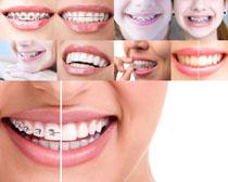美女牙齿摄影高清图片
