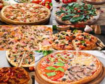 披萨种类食物摄影高清图片