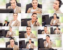 职场商务女士摄影高清图片