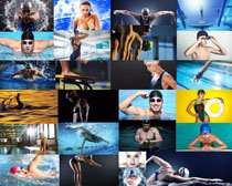 游泳运动员拍摄高清图片