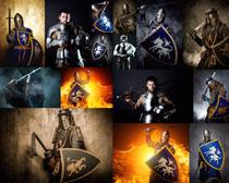 战士骑士摄影高清图片