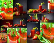 西红柿饮料摄影高清图片