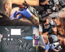国外纹身青年摄影高清图片