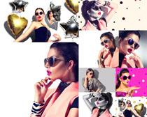 潮流时尚女子拍摄高清图片