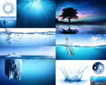 清新的水环保摄影高清图片