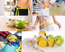 �l身女子营养减肥摄影高清图片
