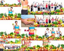 水果蔬菜�l身人们摄影高清图片