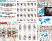 全世界旗帜摄影高清图片