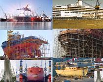 轮船建筑拍摄高清图片
