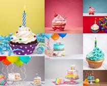 漂亮的小蛋糕摄影高清图片