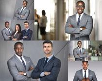 商务西装男士摄影高清图片