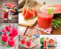饮料西瓜汁摄影高清图片