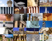 国外建筑柱子摄影高清图片