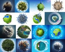 地球环保展示摄影高清图片