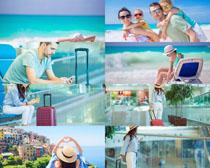 旅游的国外人物摄影高清图片