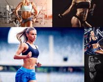 健身欧美女子拍摄高清图片