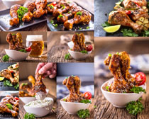 美食鸡腿食物摄影高清图片