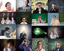大人与小孩职业摄影高清图片