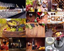 红葡萄酒拍摄高清图片