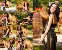 国外模特美女拍摄写真高清图片
